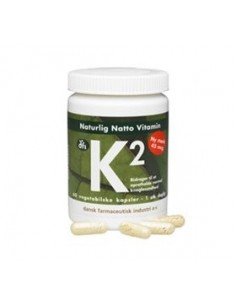 Vitamin K2, 45 mcg natto- 60 vegetabilsk