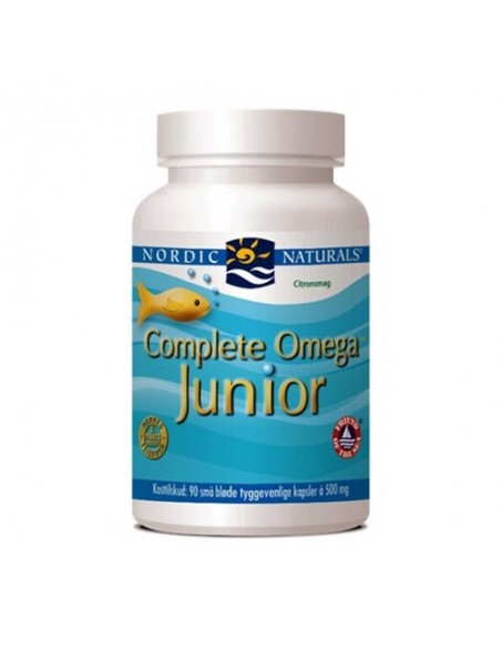 Complete Omega Junior m.citrussmag - Nordic Naturals