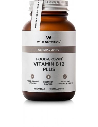 Food-Grown B12 PLUS- Wild Nutrition