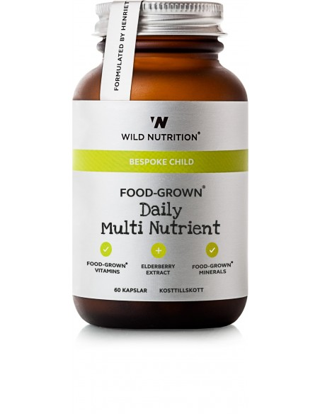 FOOD  GROWN MULTI NUTRIENT CHILD Wild Nutrition 60 Kaplser