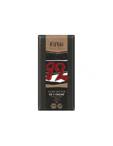 Vivani ekstra mørk chokolade 92%