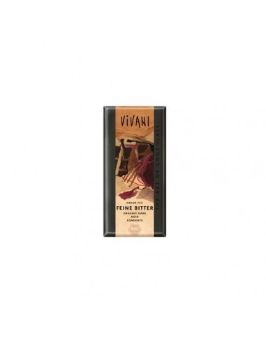 Vivani chokolade bitter 71% Ø