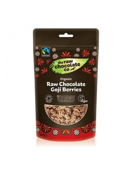 Gojibær m. rå chokolade Økologisk