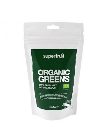 Organic greens pulvermix Økologisk Superfruit