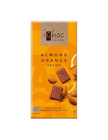 Ichok almond orange Økologisk