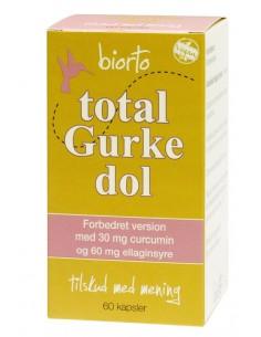 Biorto Total Gurkedol 60 kapsler