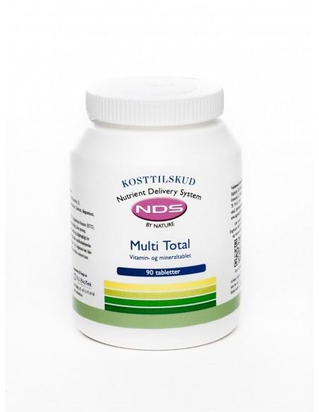 Multi Total - multivit og mineral 90tab - NDS