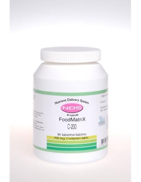 C-200 Vitamin - 90 tab - NDS