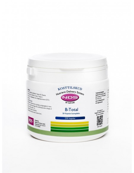 B-Total Vitamin - 250 tab - NDS