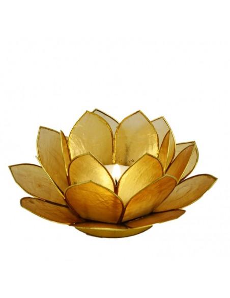 Lotus Stager Sandfarvet, 14 cm.