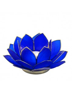 Lotus Stager, Royal Bue 14 cm.