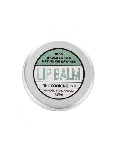 Ecooking Lip balm mint, 15 ml