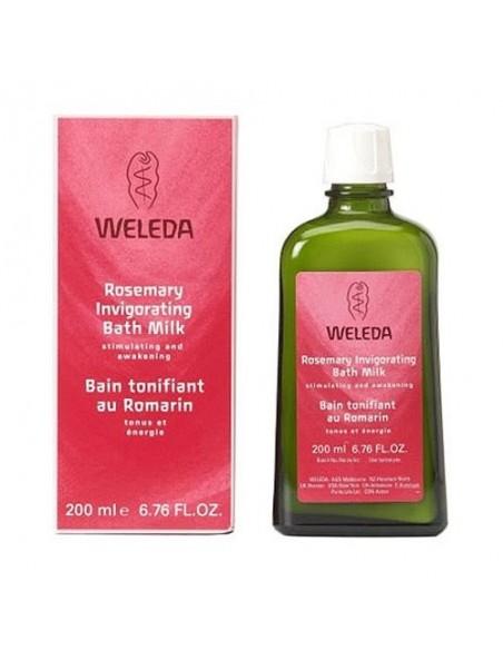 Bath Milk Invigorating Rosemary Weleda