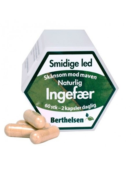 Ingefær - Berthelsen