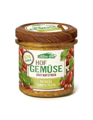 Smørepålæg Tomat Pesto Farm Vegetables Allos 135 g
