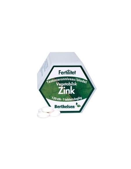 Zink 20 mg - Berthelsen