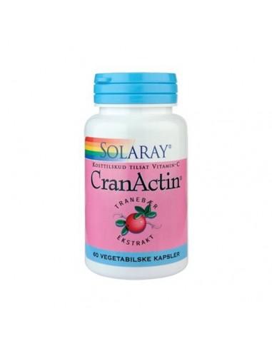 Solaray Cran Actin Tranebær 400 mg