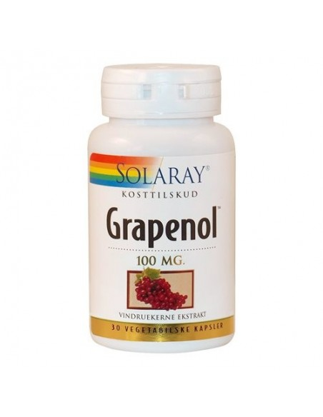 Solaray Grapenol 30 kap.
