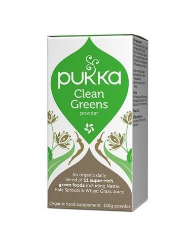 Clean Greens kapsler 400 mg - Pukka