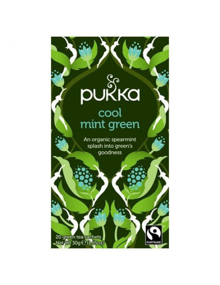 Cool mint Green te - Pukka