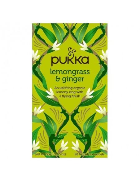 Lemongrass & Ginger te - Pukka