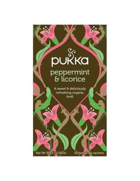 Peppermint & Licorice te - Pukka