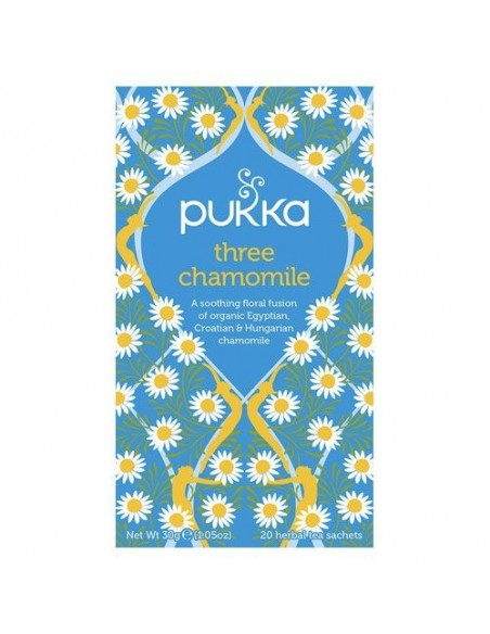 Three Chamomile te - Pukka