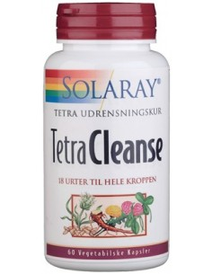 Solaray Tetra Cleanse 60 kap.