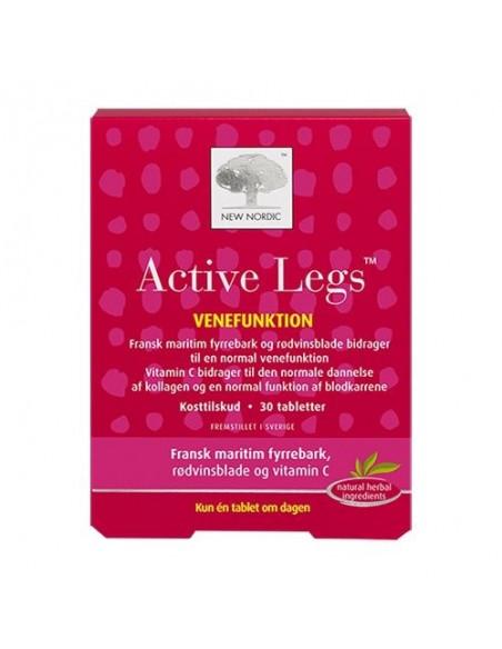 Active Legs 30 kapsler New Nordic Healthcare