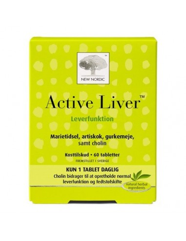 Active Liver 60 kapsler New Nordic Healthcare