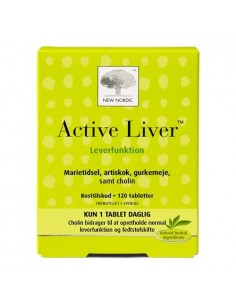 Active Liver 120 kapsler New Nordic Healthcare