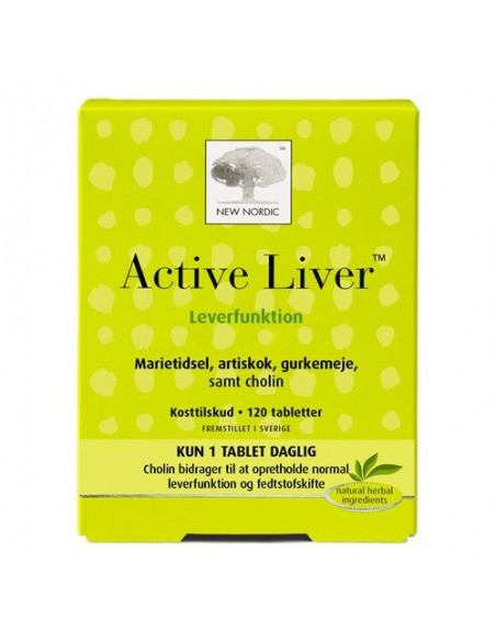 Active Liver 120 tabletter New Nordic Healthcare