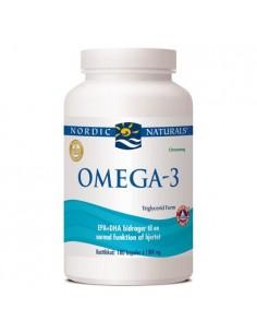 Omega 3 m citrussmag - 180 kapsler - Nordic Naturals