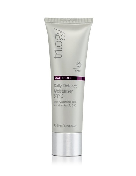 Trilogy Age Proof Daily Defence Mousteriser SPF 15