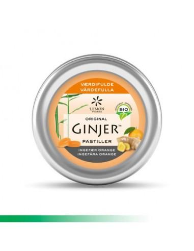 Ginjer Pastiller, Ingefær Pastiller orange