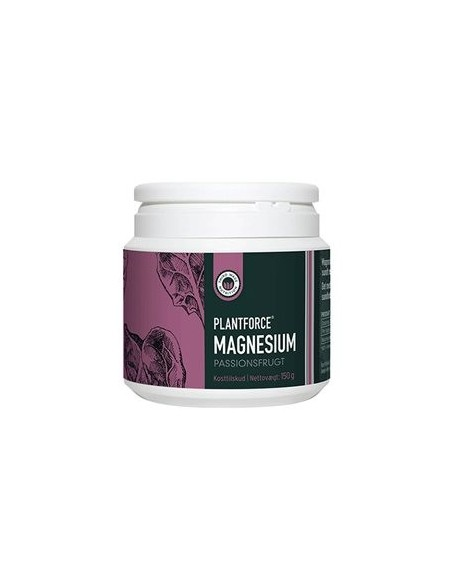 Magnesium passionsfrugt Plantforce 150 g