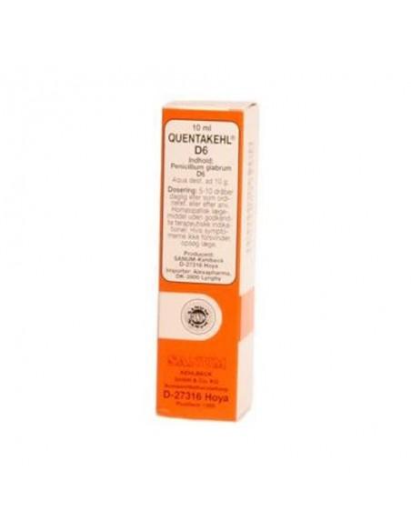 Quentakehl dråber 10 ml.