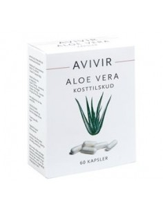 AVIVIR Aloe Vera 60 Kapsler