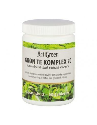 Grøn Te Komplex 70 ActiGreen 60 tab
