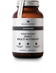 Food Grown Daily Multi Nutrienent Men -Wild Nutrition