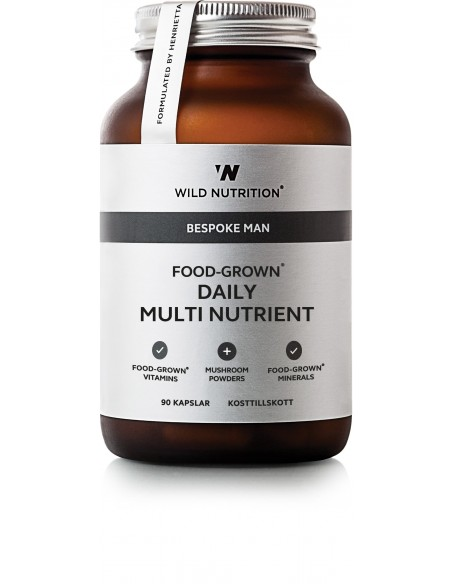 Food Grown Daily Multi Nutrienent Men Wild Nutrition
