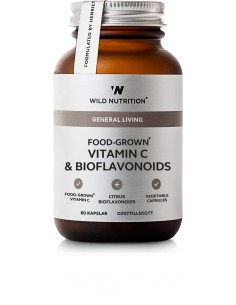Food-Grown Vitamin C & Bioflavanoids- Wild Nutrition