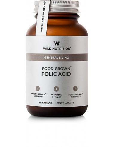 Food-Grown FOLIC ACID- Wild Nutrition