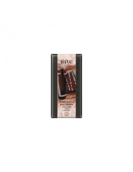 Vivani mørk chokolade 85% Økologisk