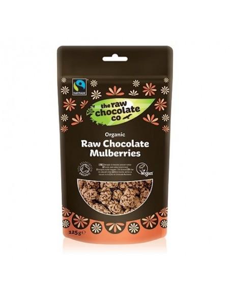 Morbær m. rå chokolade Økologisk