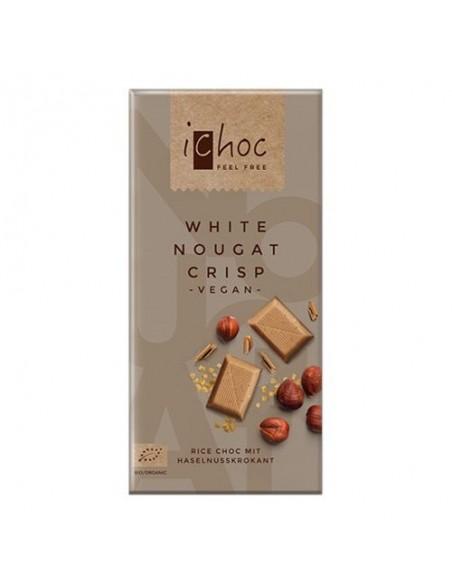 Ichok white nougat crisp Økologisk