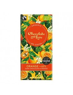 Chokolade Orange 65 Chocolate and Love