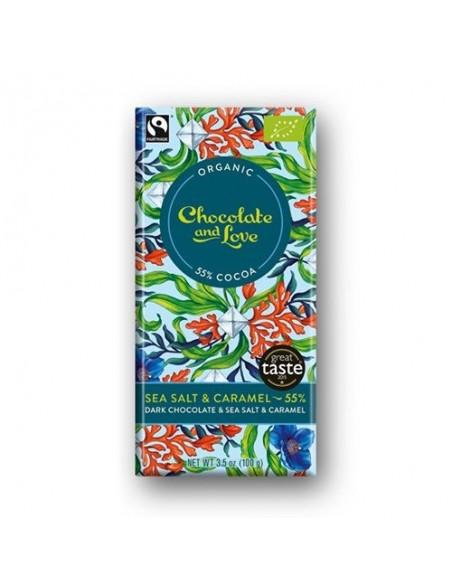 Chokolade Sea Salt 55% Økol Chocolate and Love