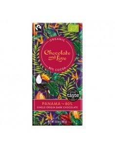 Chokolade Panama 80 Chocolate and Love