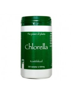 Chlorella 320 tabletter